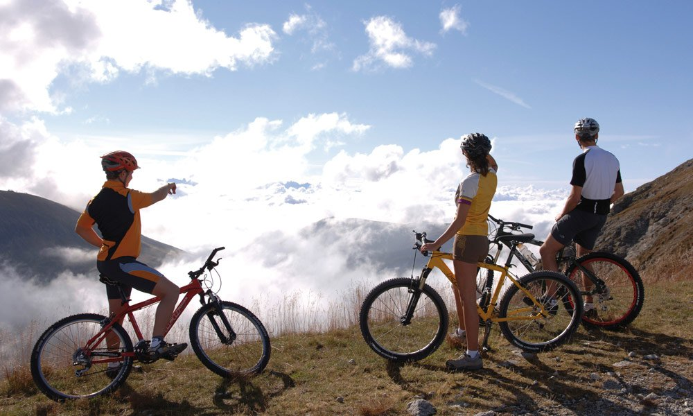 Attrazioni speciali per appassionati di mountain bike
